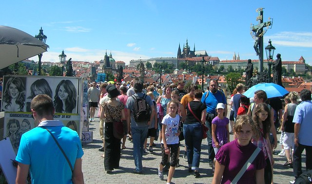 Charles Bridge -- seriously, this is ridiculous by bryandkeith on flickr