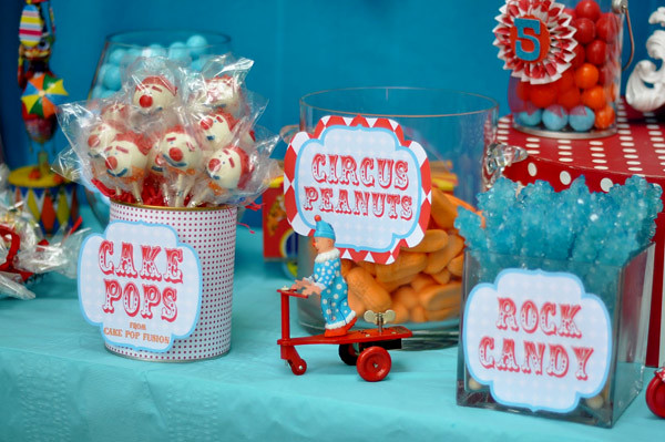 Circus Carnival Birthday Party Ideas Candy Bar Details 3 Flickr