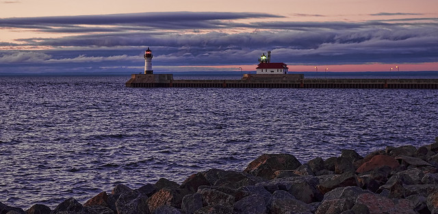 Glorious Morning in Canal Park, Duluth