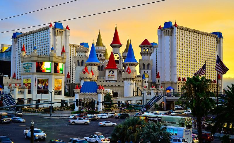 The Strip, Excalibur Hotel Casino Las Vegas