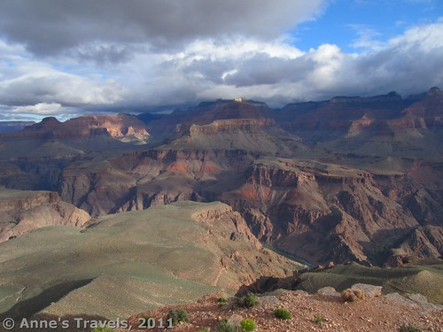 The Grand Canyon from Skeleton Point, South Kaibab Trail, Arizona