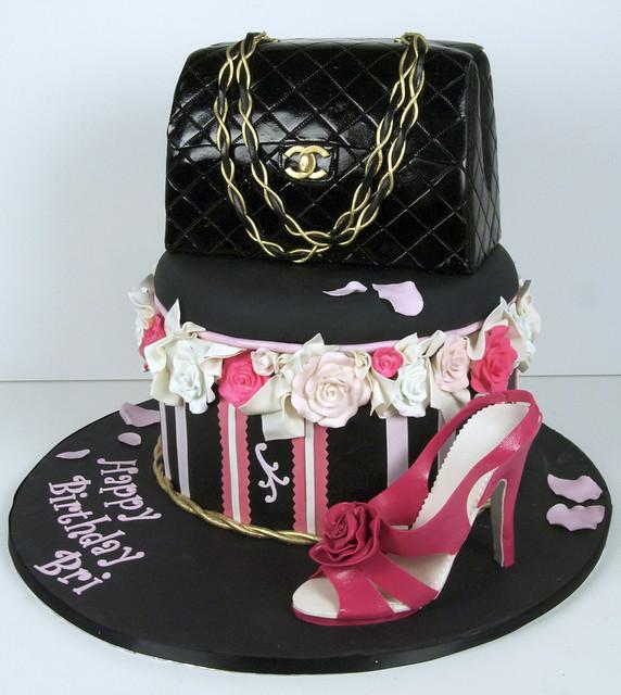 purse shoe cake toronto