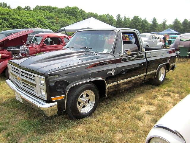 1984 Chevy Silverado >> 1984 Chevy C10 Silverado Liberty Street Rods 22nd Annual