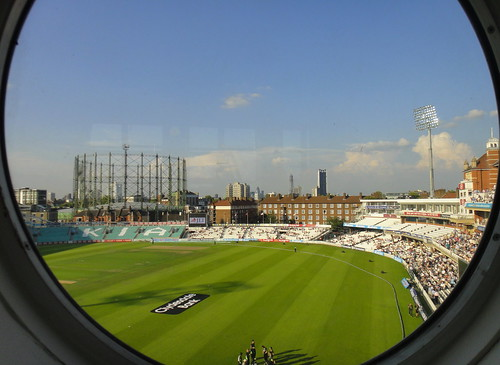 The Kia Oval - Aug 2011 - London Skyline   by Gareth1953 All Right Now