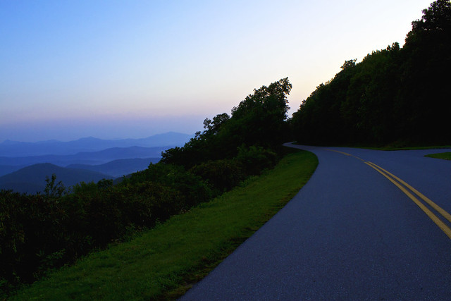 Somewhere Over the Blue Ridge Parkway, Way Up High