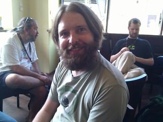 Pippin has a beard