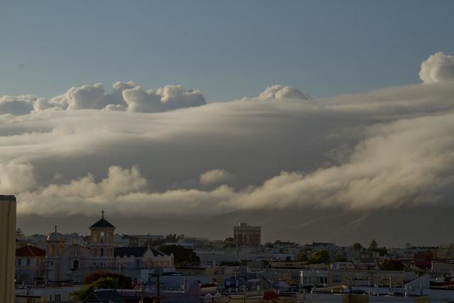 Clouds over Marin Headlands POV The Richmond, San Francisco (2011)