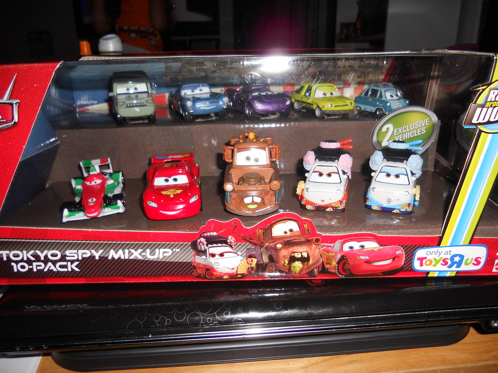Disney Cars 2 Tokyo Spy Mix Up Toys R Us Exclusive 10 Pack Flickr