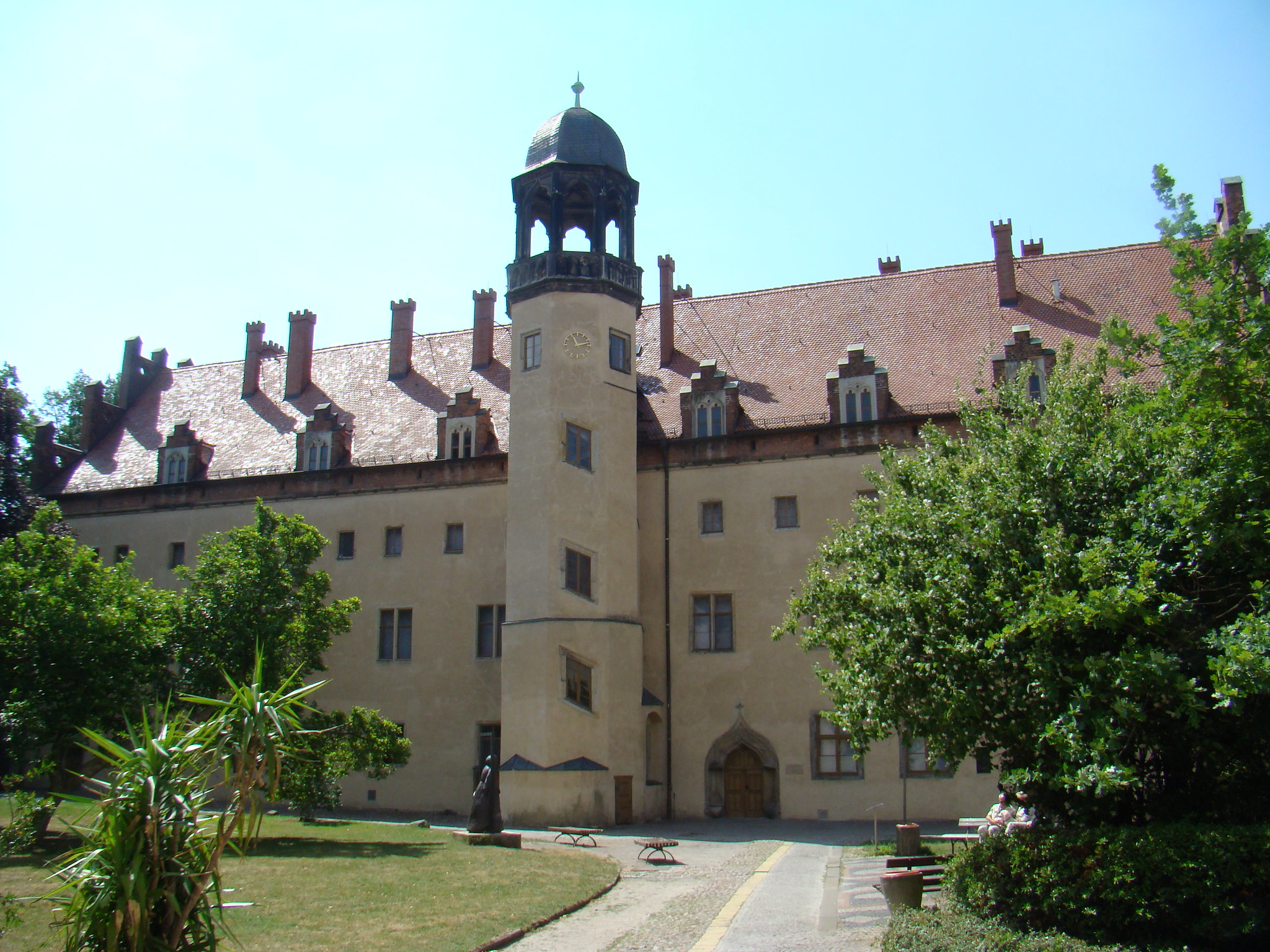 exterior Lutherhaus museo casa Lutero Wittenberg Lutherstadt Alemania Patrimonio de la Humanidad Unesco
