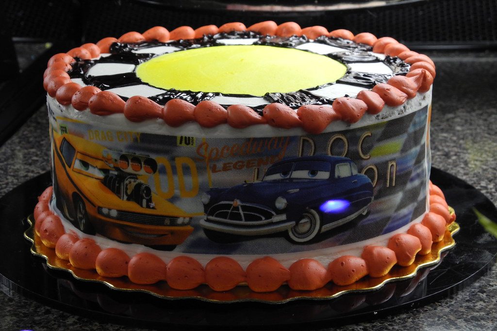 Surprising Safeway Cars Cake Flightlog Flickr Personalised Birthday Cards Beptaeletsinfo
