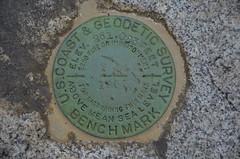 Anson RR Bridge USGS Marker