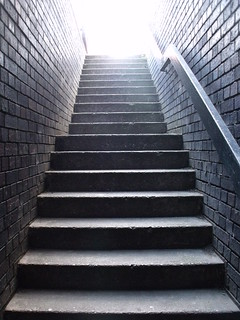 Birmingham & Fazeley Canal - Newhall Street - steps | by ell brown