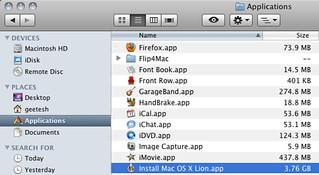 The Install Mac OS X Lion app | by Geetesh Bajaj
