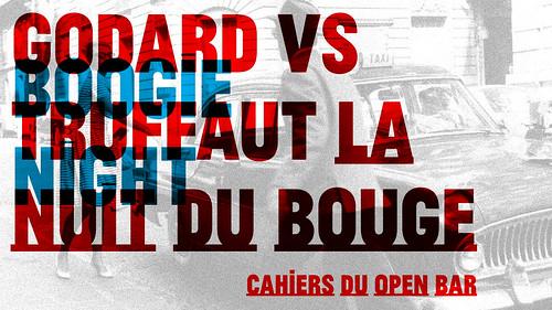 Teaser Boogie Night Godard vs. Truffaut (Não aprovado) | by Felipe Dário