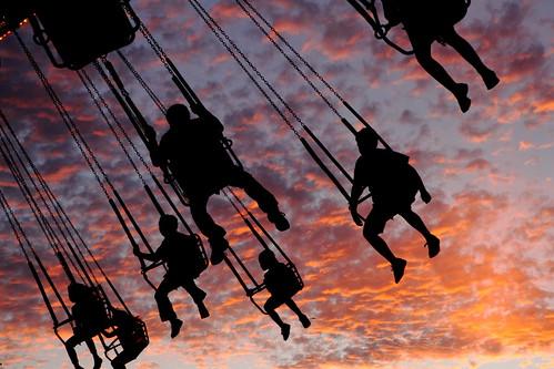 california sunset sky night canon nightshot sundown state mark fair swing ii 5d swinging 2470