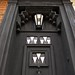Front door by Charles Rennie Mackintosh, 78 Derngate, Northampton