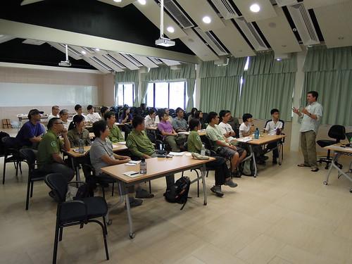 Fri, 06/24/2011 - 10:23 - CTFS Forest Dynamics Plot Training Workshop 2011