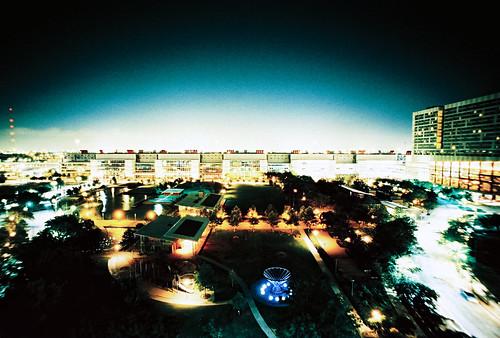 city night lomo lca xpro lomography crossprocessed xprocess cityscape texas view balcony houston lomolca lomograph huston lomographyxprochrome100 posted:to=tumblr roll:name=110610lomolcwlomo100 file:name=110610lomolcwlomo100093
