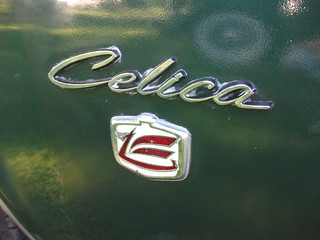 1974 Toyota Celica badge | by dave_7