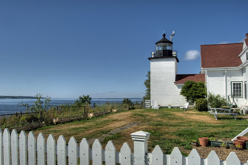 park lighthouse me point state fort map maine springs stockton tone hdr