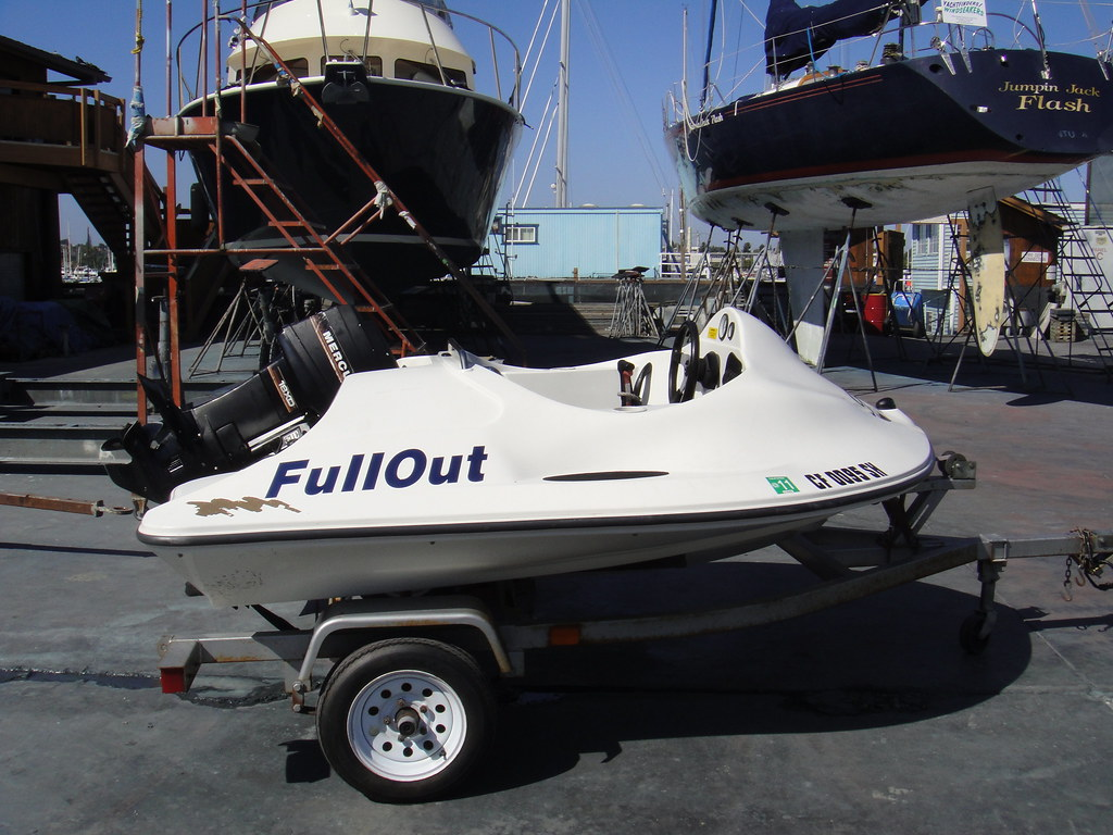 FOR SALE: BOAT - 1998 Full Out Skate | - Rare Skate made by