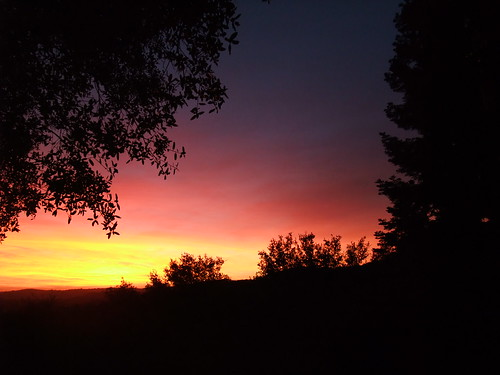 sunset skyline twilight dusk country eldorado hills placerville