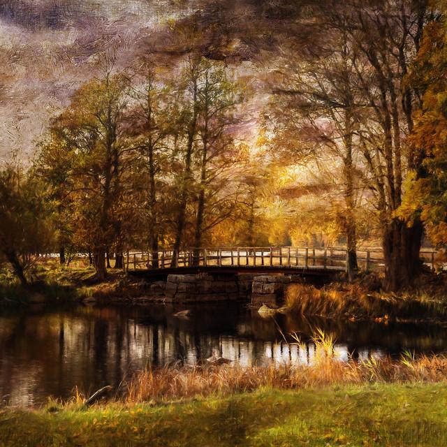 With a sense of autumn