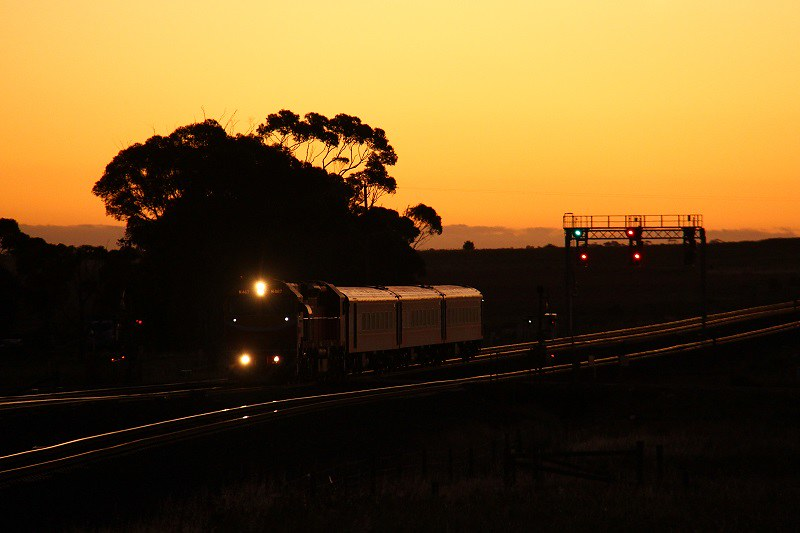 Pass from Geelong by David Arnold