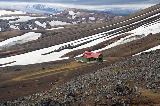 Hrafntinnusker, Iceland