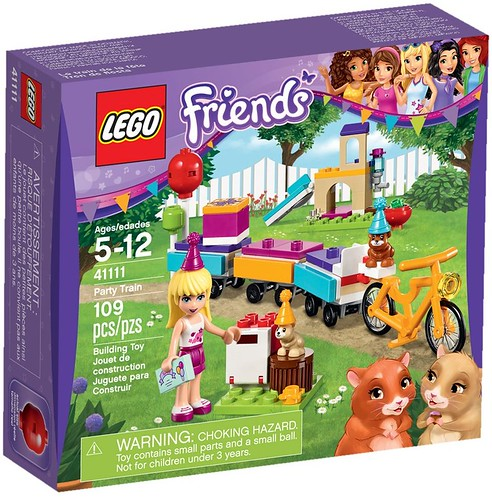 LEGO Friends 41111 - Party Train | by www.giocovisione.com