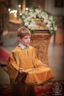 Литургия в Покровском соборе 115