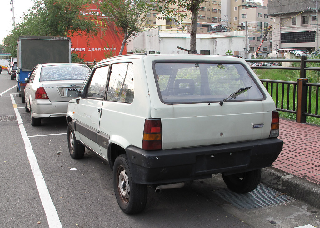 Fiat Panda 4x4 Place Dali District Taichung Rutger Van Der Maar Flickr