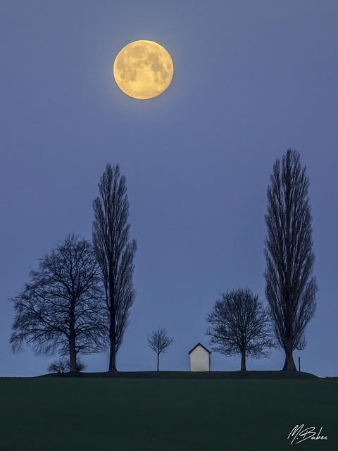 St-Donat Coucher de Pleine Lune