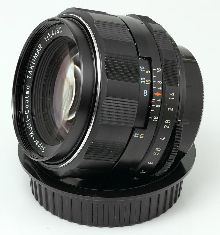50mm f/1.4 S-M-C Takumar (Radioactive)