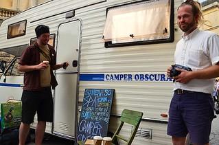 Camper Obscura in Fringe Arts Bath, Bath Fringe Festival, UK, May & June 2011