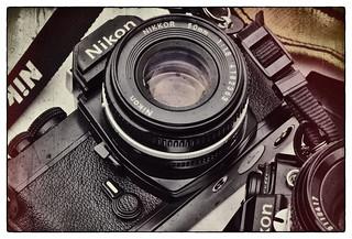 Old Nikon FM & FE