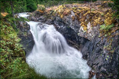 nature landscape waterfall falls littlequalicumfalls artofimages upperlittlequalicumfalls
