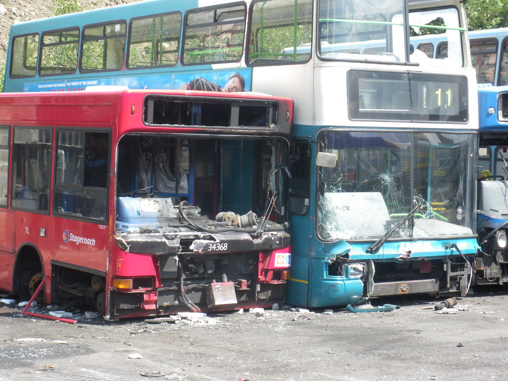 PVS | It seems very strange to see these buses in a scrap ya… | Flickr