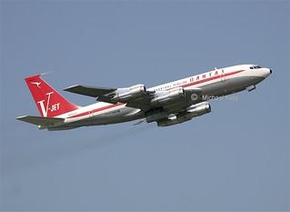Qantas John Travolta Boeing 707 N707jt 2nd May 2007 Sh Flickr