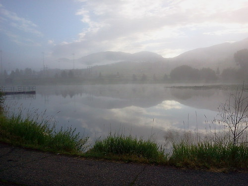 Mist on a pond, Steamboat Springs | by wa6prb