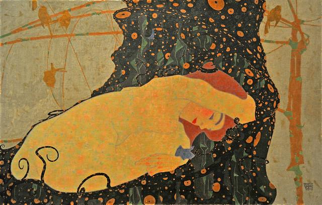 Danae, Egon Schiele