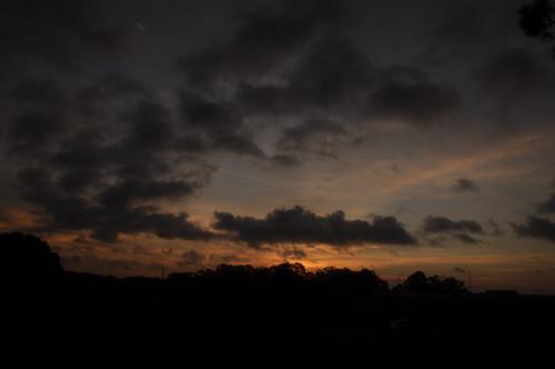 morning sky clouds sunrise dawn am tripod optimism sooc dsc5738 choosingtobehappy takenwhilestillinpjs panickedwhensomeonepulledovernearby