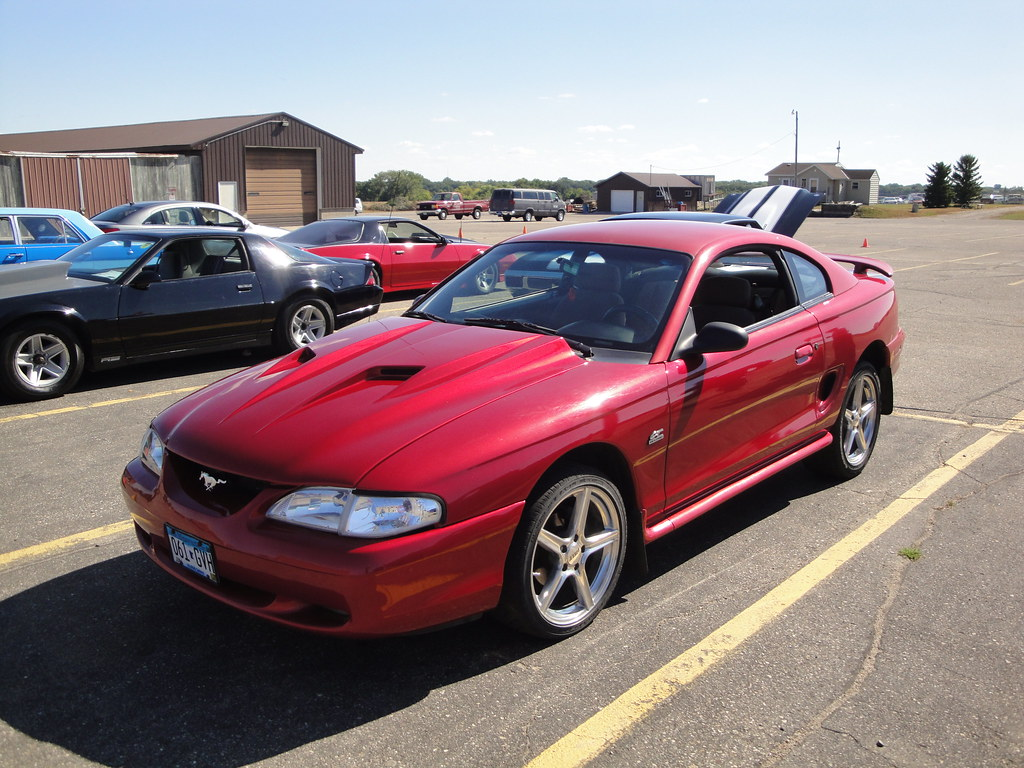 95 ford mustang gt i toured the campus during auto technol flickr