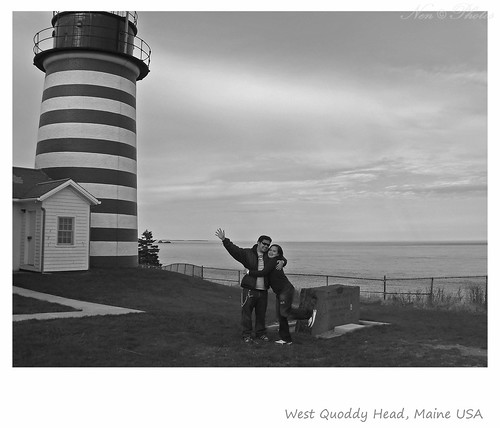 portrait lighthouses maine lubec quoddyhead westquoddy lighthousesofmaine westquoddyheadmaineusa easternmostpointofusa