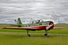 Kurkachi Airfield - Learning to fly in a Yak-52