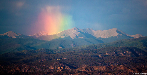 truchas truchaspeak rainbow colors green red peaks mountains sangredecristos rainbows landscape sangredecristomountains ygs newmexico rockymountains unitedstates america usa