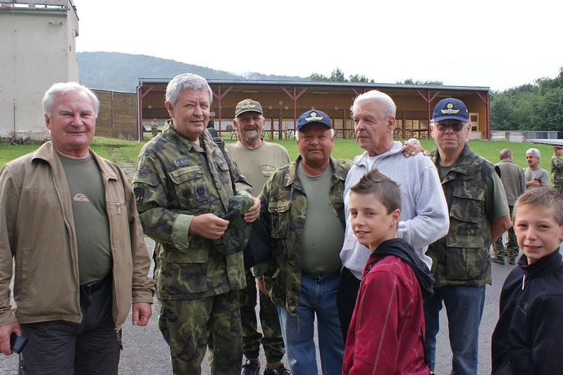 III. ročník střeleckého trojboje Klubu výsadkových veteránů, Holešov
