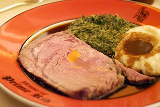 The City Cut with Mashed Potatoes & Cream Spinach | by Jun Seita