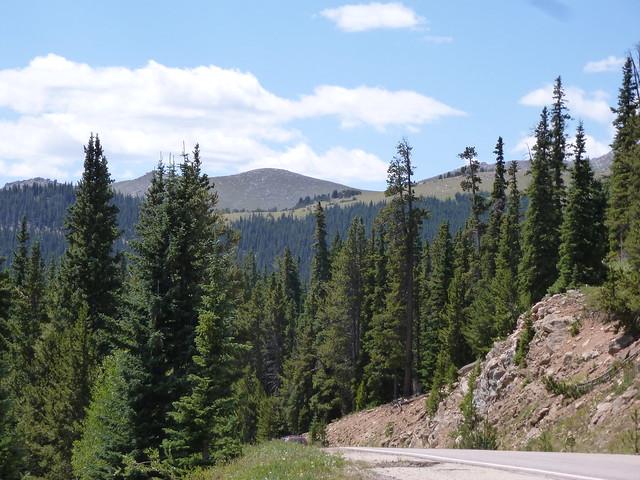 Leaving Mt Evans Behind