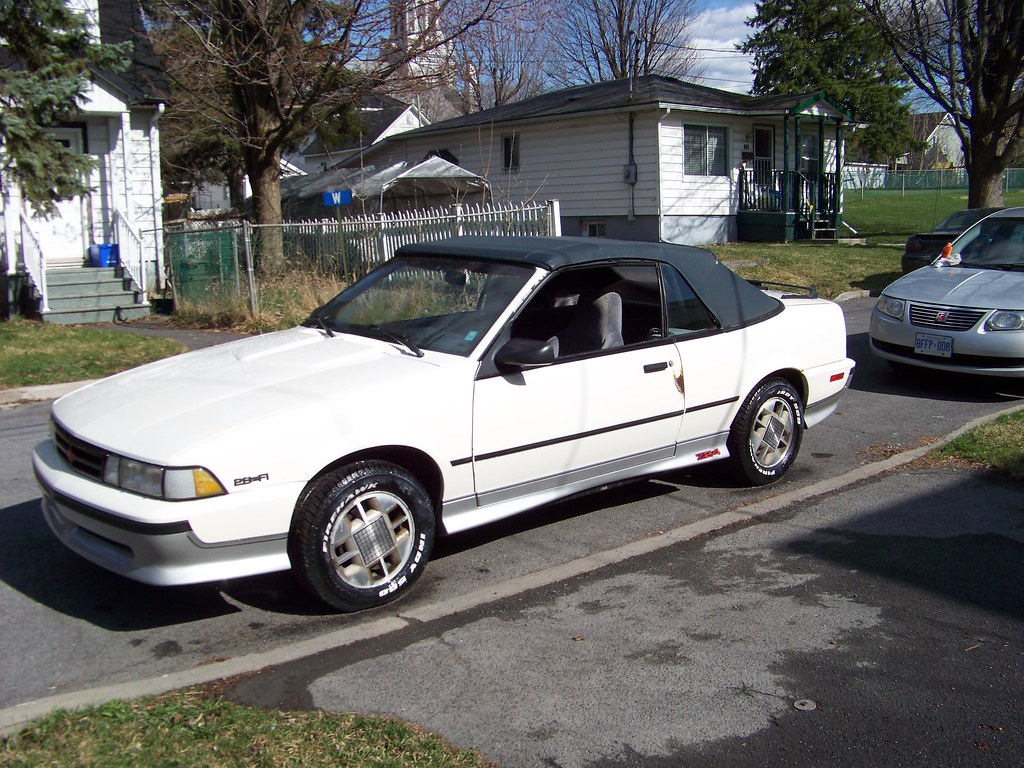 1989 Chevrolet Cavalier Z24 Convertible   This picture was t